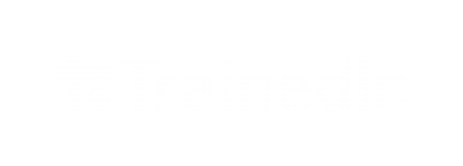trainedin logo white